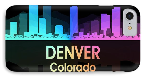 Denver Co 5 Squared IPhone Case