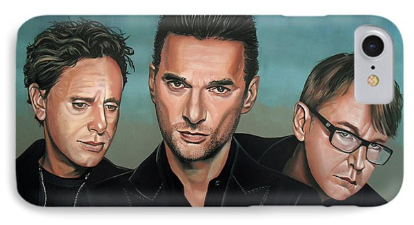 Depeche Mode Painting IPhone Case