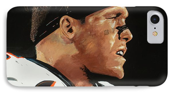 Derek Wolfe IPhone Case