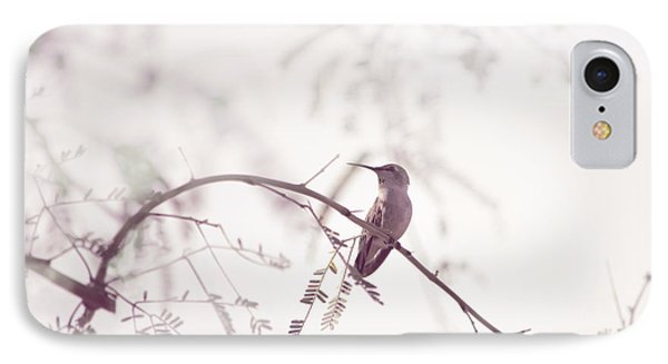 Desert Hummingbird II IPhone Case
