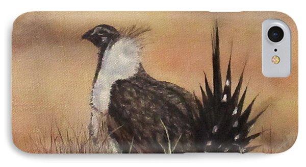 Desert Sage Grouse IPhone Case