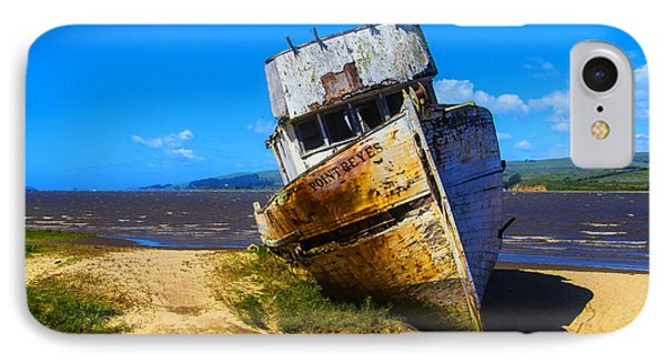 Deserted Beached Boat IPhone Case