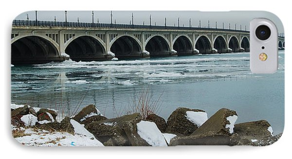 Detroit Belle Isle Bridge IPhone Case