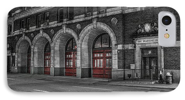 Detroit Fire Department Headquarters  IPhone Case