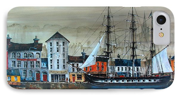 Ireland Canada Links.. The'' Dunbrody'' Famine Ship In New Ross, Wexford IPhone Case
