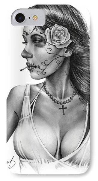 Dia De Los Muertos 1 IPhone Case