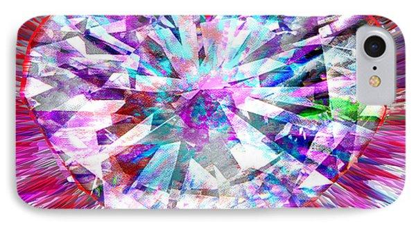Diamond Heart IPhone Case