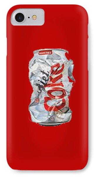 Diet Coke T-shirt IPhone Case