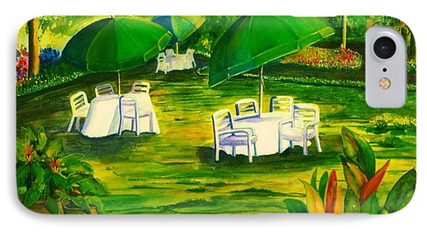Dining In The Park IPhone Case