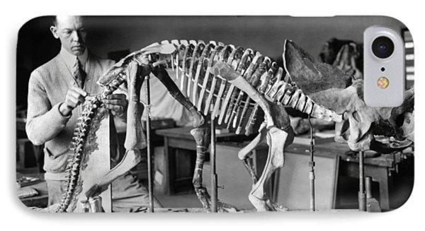 Dinosaur Skeleton, 1921 IPhone Case