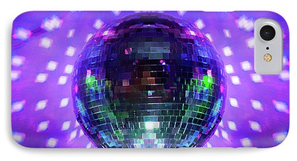 Disco Ball Purple IPhone Case