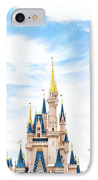 Castle iPhone 8 Case - Disneyland by Happy Home Artistry