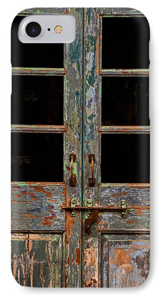 Distressed Doors IPhone Case