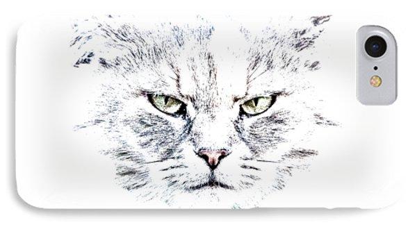 Disturbed Cat IPhone Case
