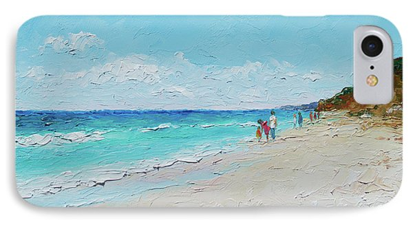 Ditch Plains Beach Montauk Hamptons Ny IPhone Case