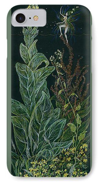 Ditchweed Fairy Mullein IPhone Case