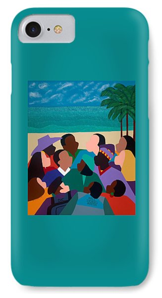 iPhone 8 Case - Diversity In Cannes by Synthia SAINT JAMES
