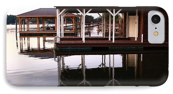 Dock Reflections IPhone Case