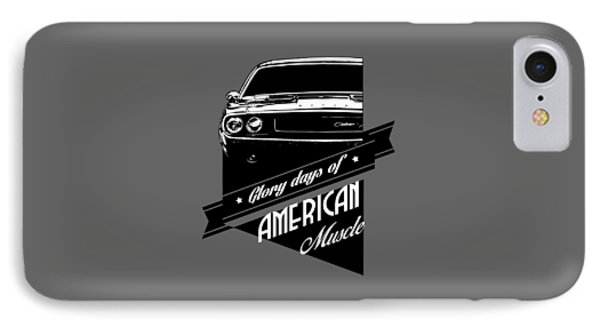 Dodge Challenger Muscle IPhone Case