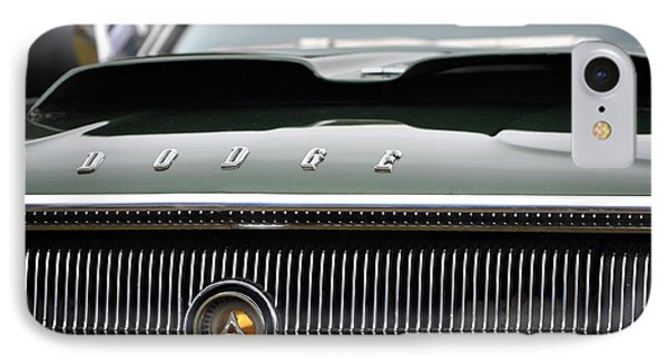 Dodge Charger Hood IPhone Case