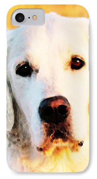 Dog Art - Golden Moments IPhone Case