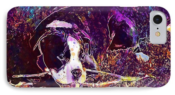 Dog Boxer Puppy Black And White  IPhone Case