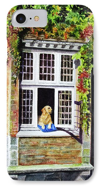 Dog In The Window IPhone Case