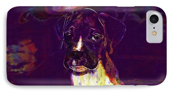 Dog Look Boxer Dog Puppy  IPhone Case