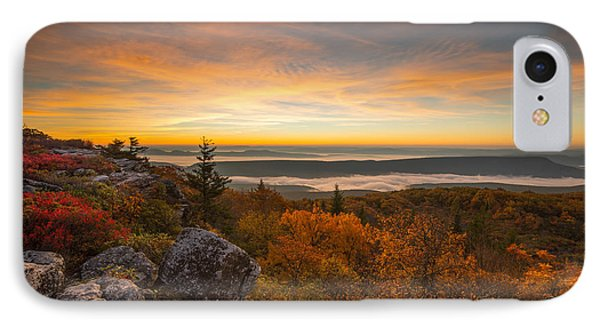 Dolly Sods Wilderness Peak Fall Sunrise IPhone Case