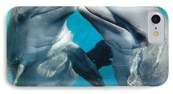 Dolphin Play IPhone Case
