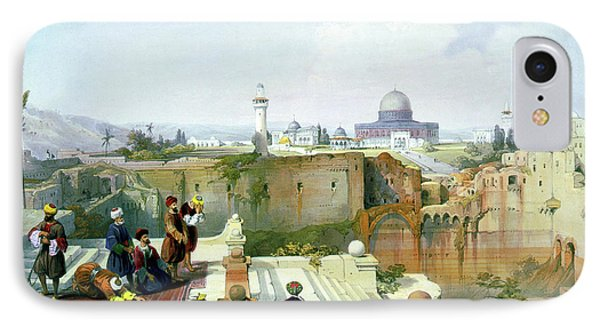 Dome Of The Rock In The Background IPhone Case