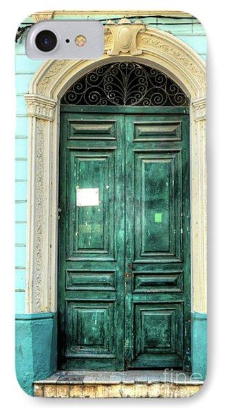 Doors Of Cuba Green Door IPhone Case