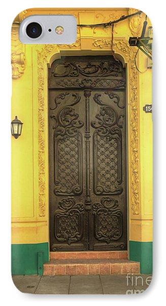 Doors Of Cuba Yellow Door IPhone Case