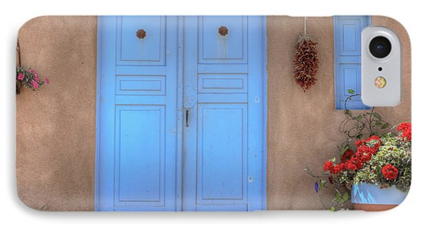 Doors, Peppers And Flowers. IPhone Case