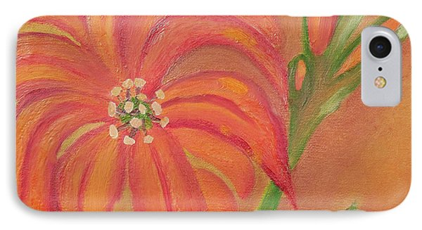 Double Headed Orange Day Lily IPhone Case