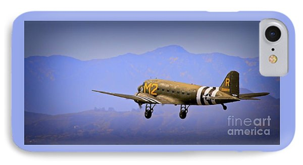Douglas C-47 Invasion Blues IPhone Case