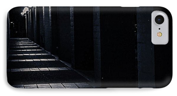 Down The Walkway IPhone Case