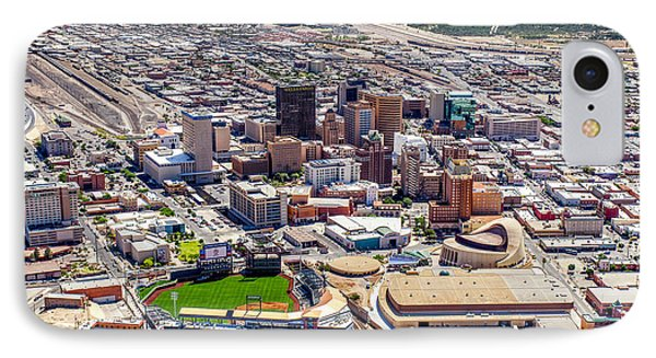 Downtown El Paso IPhone Case