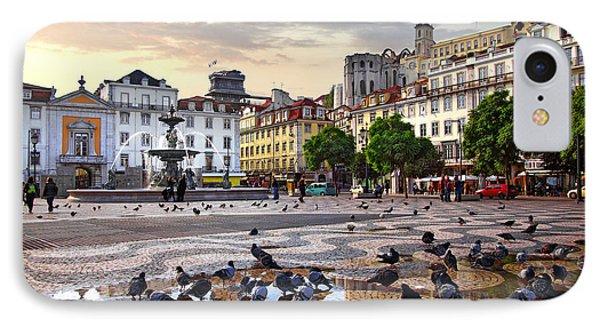 Downtown Lisbon IPhone Case