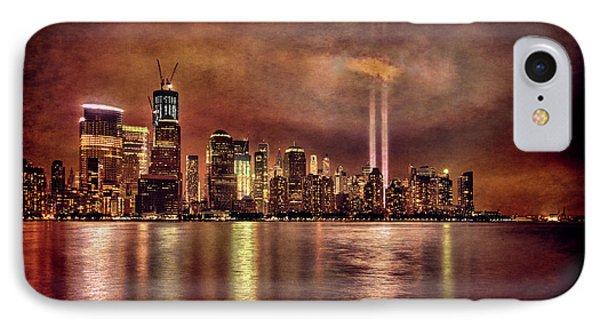 Downtown Manhattan September Eleventh IPhone Case