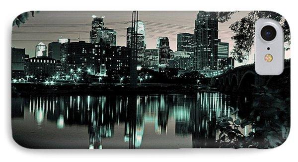 Downtown Minneapolis At Night II IPhone Case