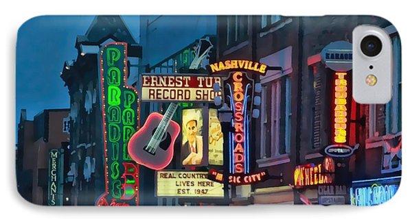 Downtown Nashville At Dusk IPhone Case