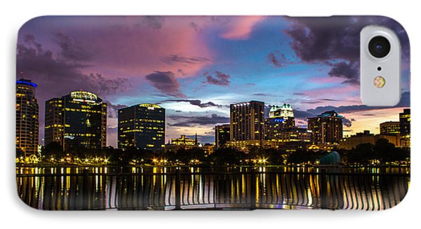 Downtown Orlando IPhone Case