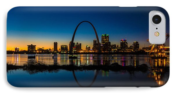 Downtown St. Louis And The Gateway Arch IPhone Case