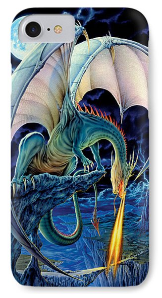 Dragon iPhone 8 Case - Dragon Causeway by The Dragon Chronicles - Robin Ko