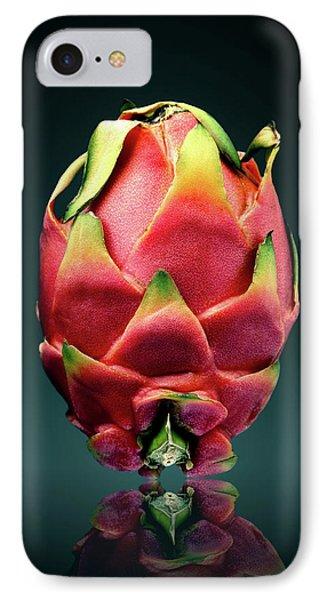 Dragon iPhone 8 Case - Dragon Fruit Or Pitaya  by Johan Swanepoel