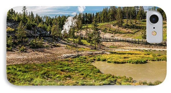 Dragon Geyser At Yellowstone IPhone Case