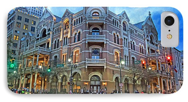 Driskill Hotel Light The Night IPhone Case