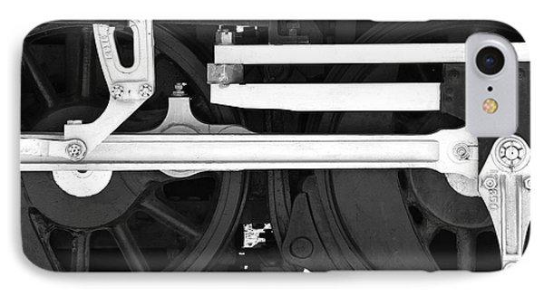 Train iPhone 8 Case - Drive Train by Mike McGlothlen