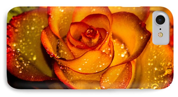 Droplet Rose IPhone Case